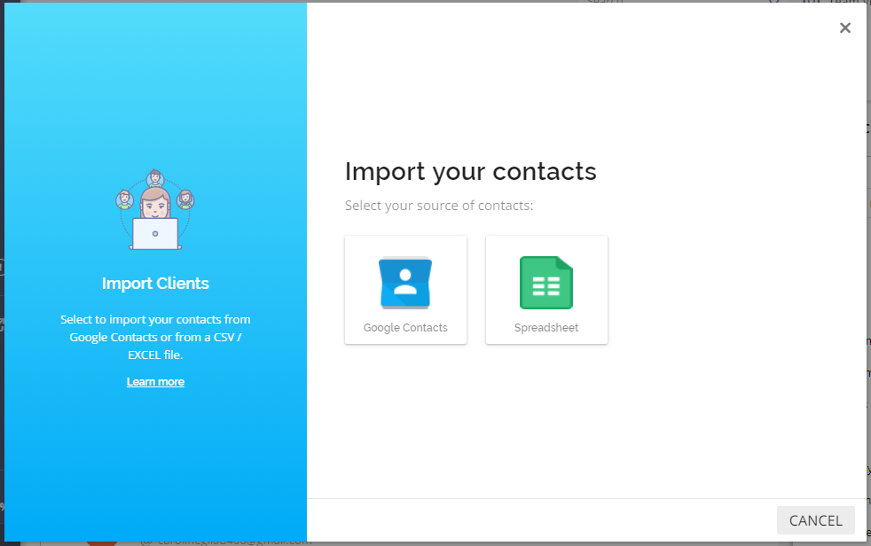 Importing Contacts to Your Client List – vCita Help Center